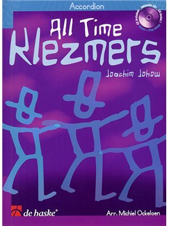 Joachim Johow: All Time Klezmers - Accordion Books and CDs | Accordion