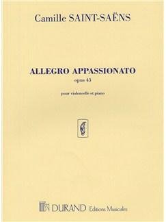 Camille Saint-Saens: Allegro Appassionato Op.43 Books | Cello, Piano Accompaniment