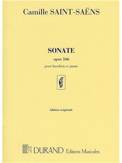 Camille Saint-Saens: Sonate Op.166 (Oboe and Piano) Books | Oboe, Piano Accompaniment