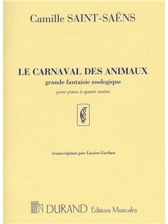 Camille Saint-Saens: Carnaval Animaux (Piano Duet) Books | Piano Duet