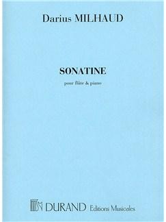Darius Milhaud: Sonatine (Flute and Piano) Books | Flute, Piano Accompaniment
