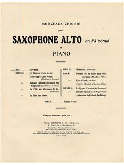 Gaetano Braga: La Serenata (Saxophone and Piano) Books | Saxophone
