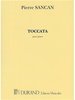 Pierre Sancan: Toccata Pour Piano Books | Piano