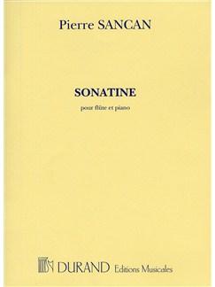 Pierre Sancan: Sonatine Pour Flute Et Piano Books | Flute, Piano Accompaniment