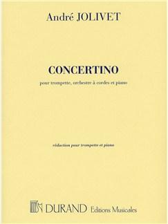 Andre Jolivet: Concertino Pour Trompette (Trumpet and Piano) Books | Trumpet, Piano Accompaniment