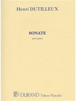 Henri Dutilleux: Sonate Pour Piano Books | Piano