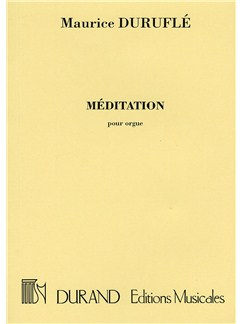 Maurice Durufle: Meditation Books | Organ