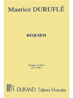 Maurice Durufle: Requiem (Choral Score) Bog | SATB