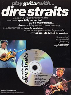 Play Guitar With... Dire Straits CD et Livre | Tablature Guitare (Symboles d'Accords)