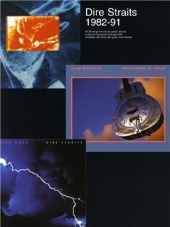 Dire Straits 1982-91 Books | Piano, Vocal & Guitar (with Chord Boxes)