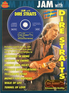 Jam With Dire Straits Books and CDs | Guitar Tab, with chord symbols