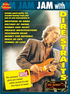 Jam With Dire Straits (Book/Audio Download) Books and Digital Audio | Guitar, Voice