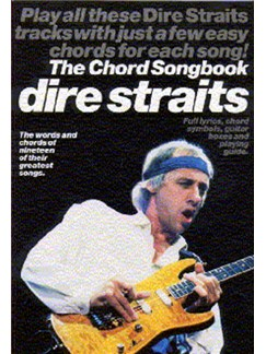 Dire Straits: The Chord Songbook Books | Lyrics and Guitar Chord boxes