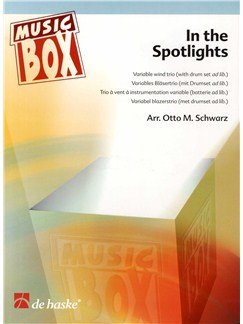 In The Spotlights - Flexible Wind Trio Books | Wind Ensemble (Trio)