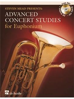 Advanced Concert Studies: Steven Mead - Euphonium (TC) Books and CDs | Euphonium