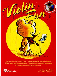 Dinie Goedhart: Violin Fun Books and CDs | Violin