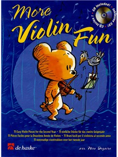 Dinie Goedhart: More Violin Fun Books and CDs | Violin