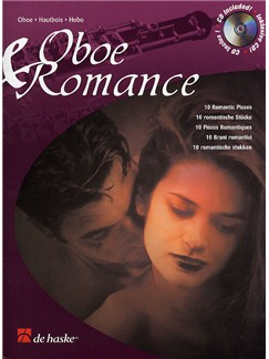 Oboe And Romance - 10 Romantic Pieces Books and CDs | Oboe
