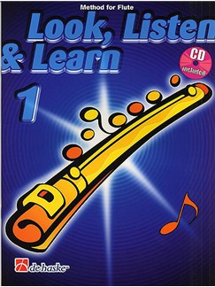 Look, Listen & Learn - Flute Part 1 (Book/CD) Books and CDs | Flute