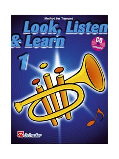 Look, Listen & Learn 1 - Trumpet (Book and CD) Books and CDs | Cornet, Trumpet