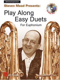 Steven Mead Presents: Play Along Easy Duets For Euphonium (Bass Clef or Treble Clef) Books and CDs | Euphonium