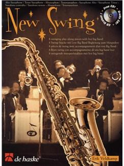 Erik Veldkamp: New Swing (Alto/Tenor Saxophone) Books and CDs | Alto Saxophone, Tenor Saxophone