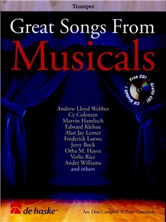 Great Songs From Musicals - Trumpet Books and CDs | Trumpet