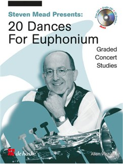 Allen Vizzutti: Stephen Mead Presents Twenty Dances For Euphonium (Bass Clef) Books and CDs | Euphonium