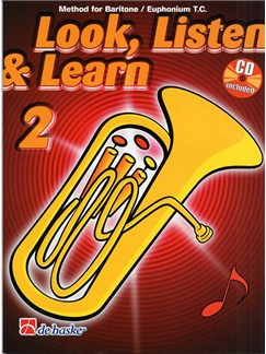 Look Listen And Learn 2: Euphonium Books and CDs | Euphonium