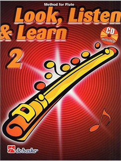 Look, Listen & Learn - Flute Part 2 (Book/CD) Books and CDs | Flute