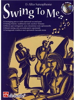Leslie Searle: Swing To Me - Alto Saxophone Books and CDs | Alto Saxophone