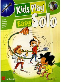 Kids Play Easy Solos (Clarinet) Books and CDs | Clarinet