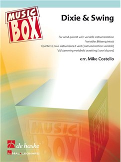 Arr. Mike Costello: Dixie And Swing (Wind Quintet) Books | Wind Quintet