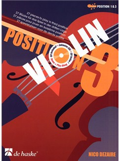 Nico Dezaire: Position 3 - Violin (Book And CD) Books and CDs | Violin