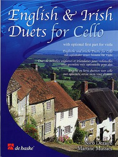 English And Irish Duets For Cello Books | Cello (Duet), Optional Viola