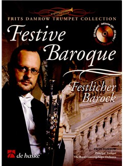 Festive Baroque - Trumpet And Piano (Book And CD) Books and CDs | Trumpet, Piano Accompaniment