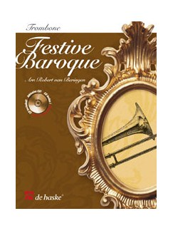 Festive Baroque - Trombone (Tc/Bc) And Piano (+cd) Books and CDs | Trombone
