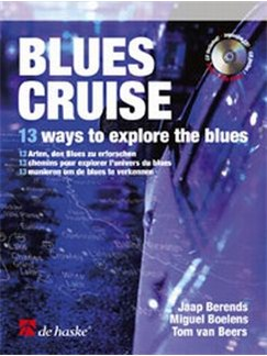 Blues Cruise: Berends - Tenor Sax (+ Cd) Books and CDs | Tenor Saxophone