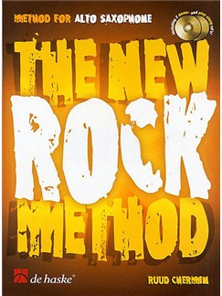 The New Rock Method: Alto Saxophone Books and CDs | Alto Saxophone