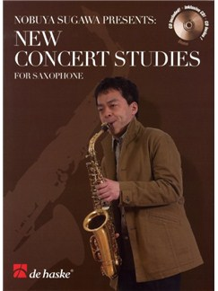 Nobuya Sugawa Presents: New Concert Studies - Alto Saxophone (Book and CD) Books and CDs | Alto Saxophone