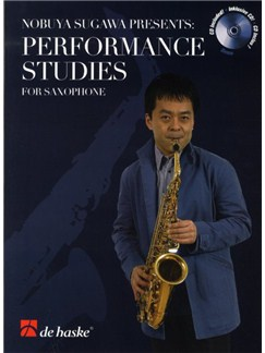Nobuya Sugawa: Performance Studies - Saxophone Books and CDs | Alto Saxophone, Tenor Saxophone