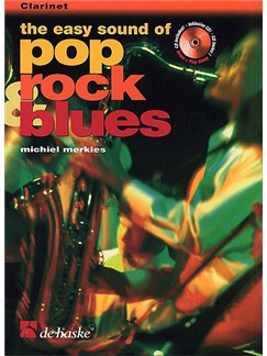 The Easy Sound Of Pop Rock And Blues - Clarinet Books and CDs | Clarinet