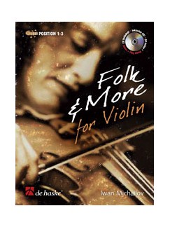 Iwan Michailov: Folk And More For Violin (Book/CD) Books and CDs | Violin