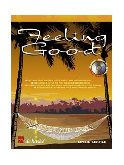 Leslie Searle: Feeling Good - Alto Saxophone Books and CDs | Alto Saxophone, Piano Accompaniment