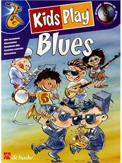 Kids Play Blues - Alto Saxophone (Book/CD) Books and CDs | Alto Saxophone