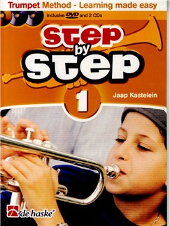 Step By Step - Book 1 Books, CDs and DVDs / Videos | Trumpet