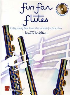 Bart Bakker: Fun For Flutes Books and CDs | Flute (Trio)