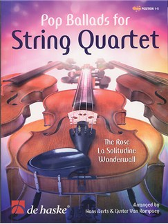 Pop Ballads For String Quartet Books | String Quartet