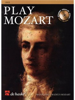 Play Mozart (Oboe) Books and CDs | Oboe