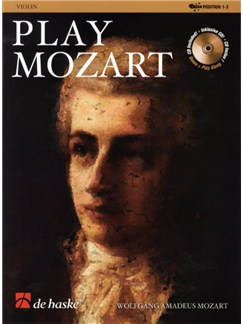 Play Mozart (Violin) Books and CDs | Violin